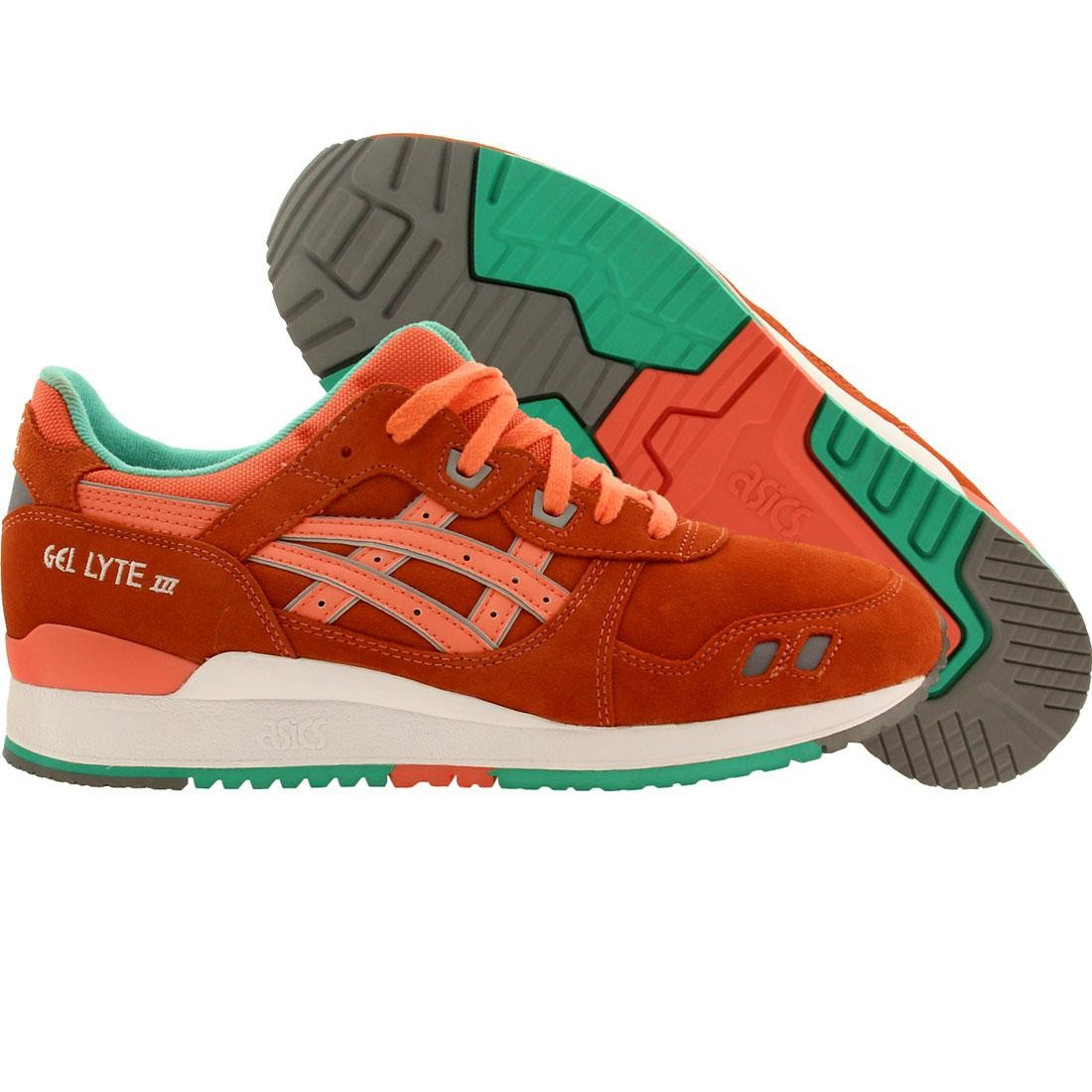 sirena guapo Máxima  Asics Men Gel Lyte III (orange / fresh salmon / fresh salmon)