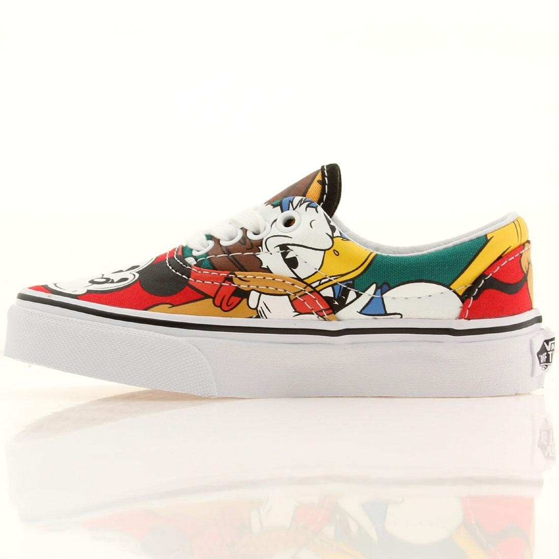 225112b82106b3 Vans x Disney Little Kids Era - Mickey   Friends (black   red)