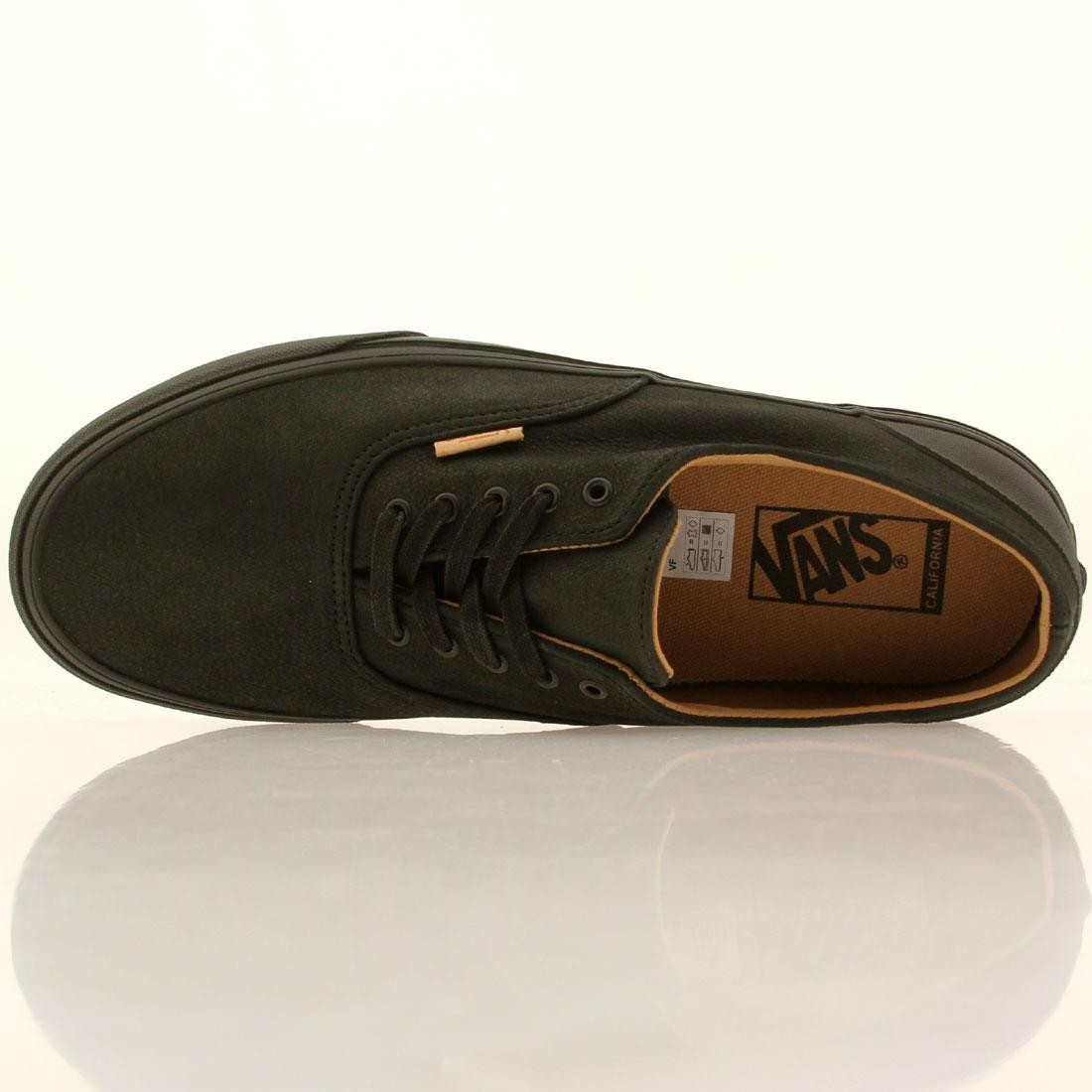 82507ff439 Vans Men Era Decon CA - Mono Leather (black   rubber)