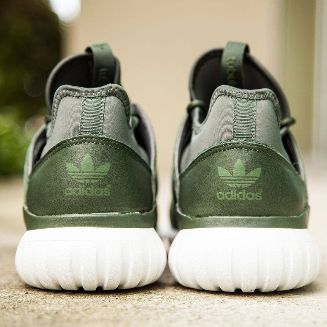 huge discount 0228e 305f0 Adidas Men Tubular Radial (olive   shadow green   crystal white)