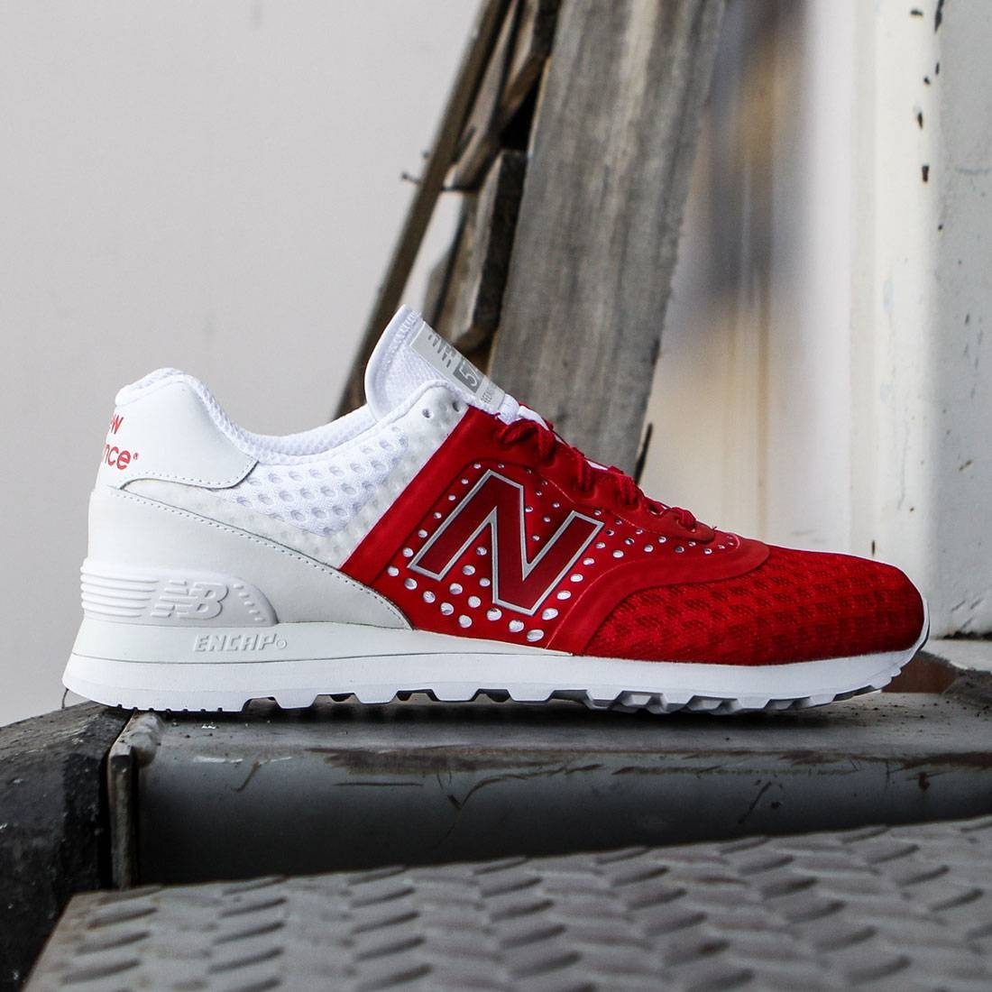 quality design 45239 f8f72 New Balance Men 574 Re-engineered Breathe MTL574MR (red / white)
