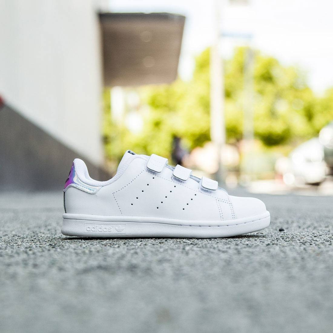 new style 3f000 68909 Adidas Little Kids Stan Smith (silver   metallic silver   footwear white)