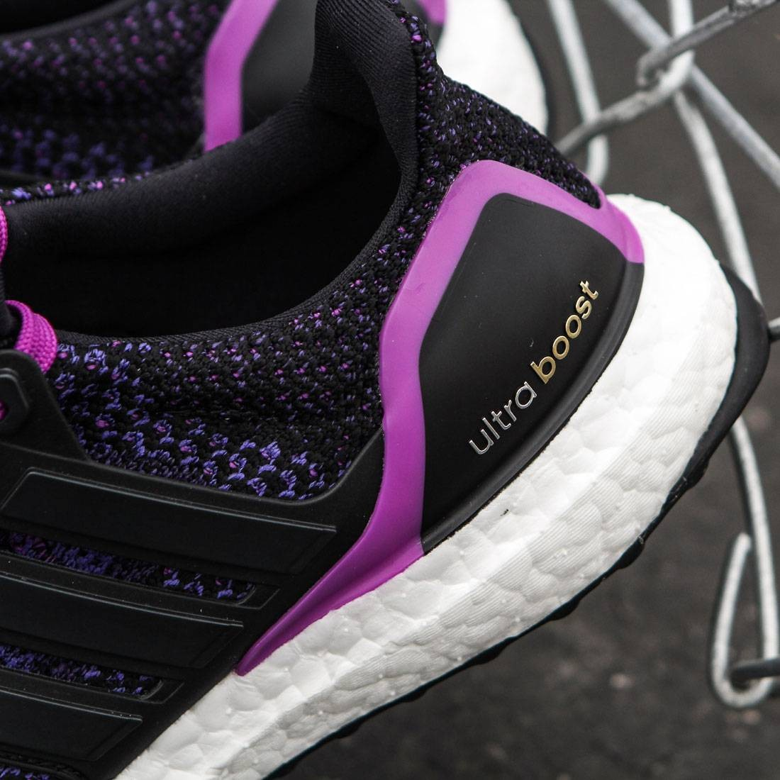 7c00250ad0901 Adidas Women Ultra Boost (black   core black   shock purple)