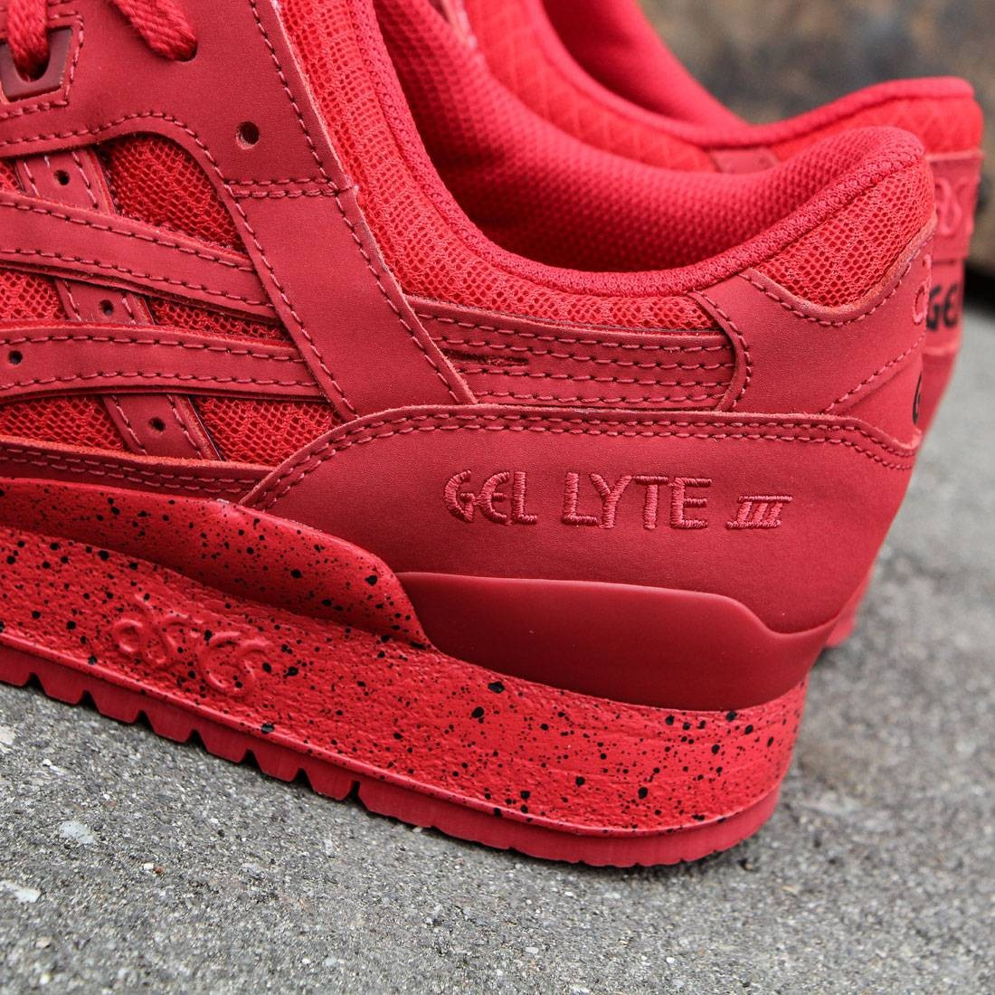 new products f6fb3 8f23e Asics Tiger Men Gel-Lyte III - Mono Pack (red)