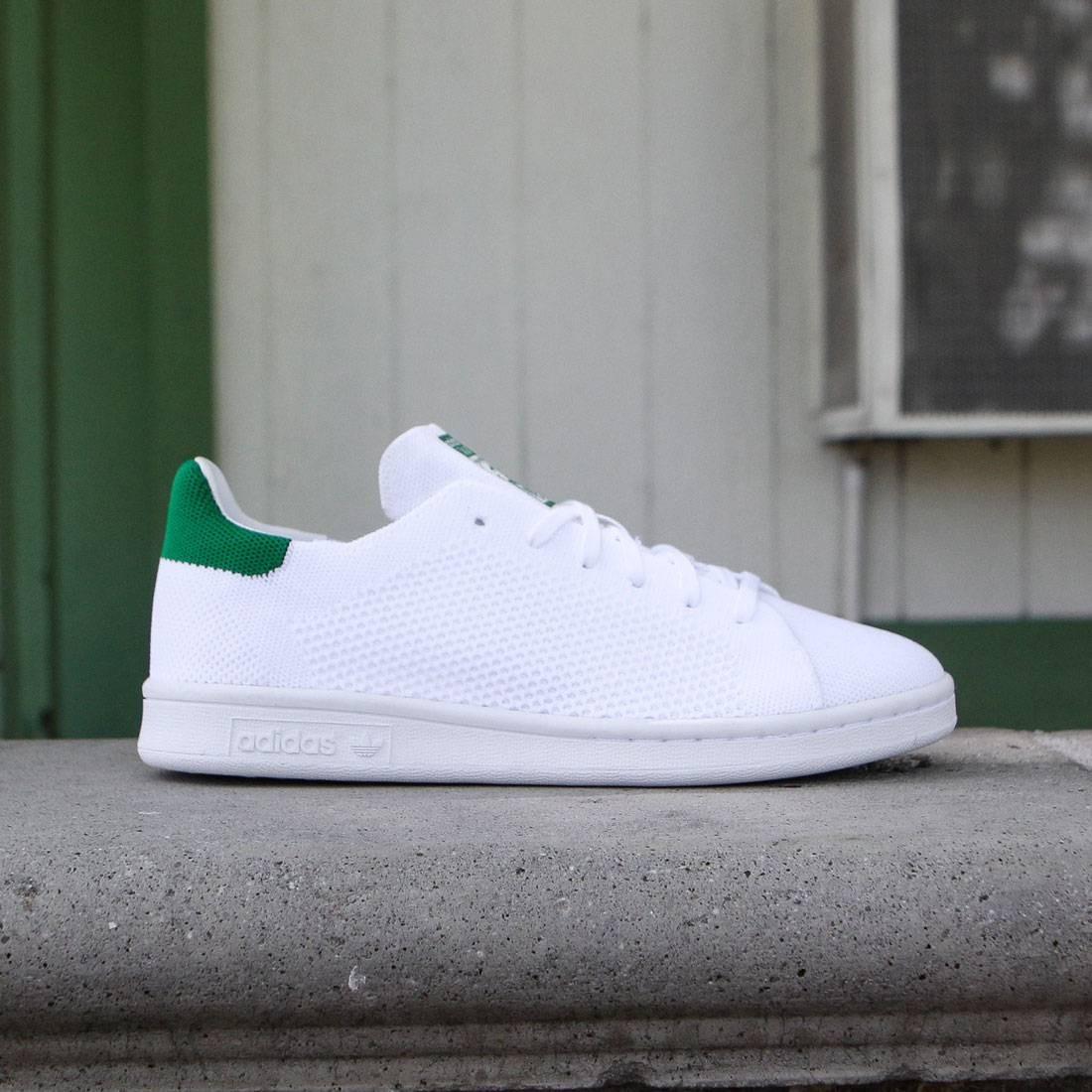 newest 5478c b2b89 Adidas Big Kids Stan Smith Primeknit (white / green)