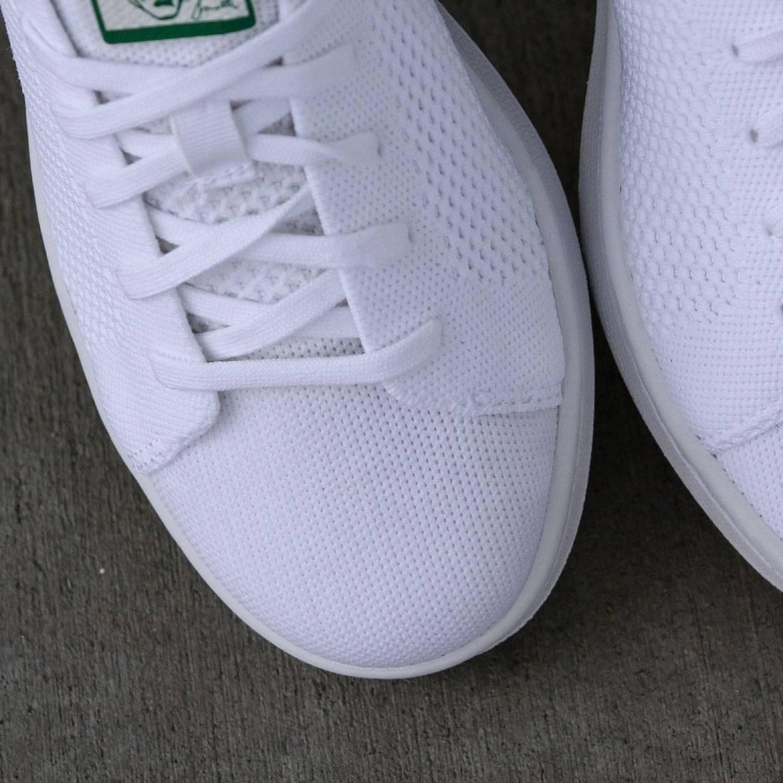 Adidas Big Kids Stan Smith Primeknit (white green)
