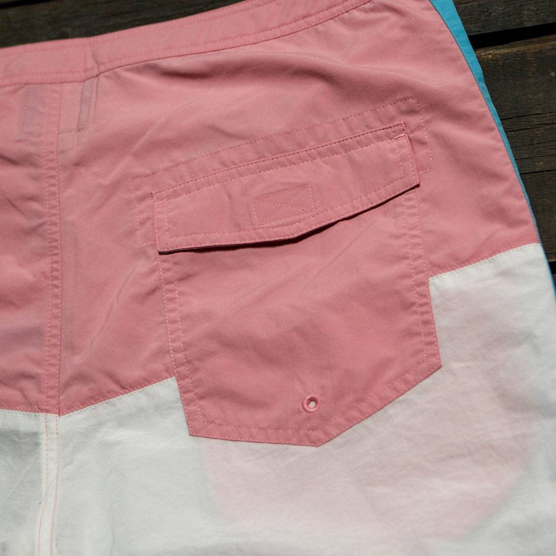 Barney Cools Men Classic 17 Shorts pink white blue