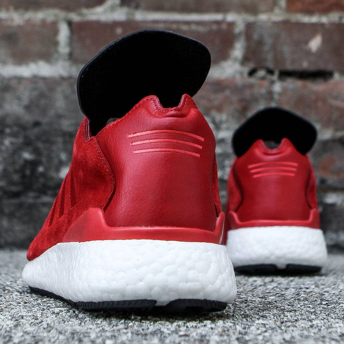 f9cf16d4d0a94 Adidas Men Busenitz Pure Boost (red   scarlet   white)