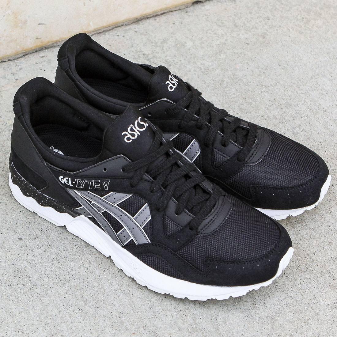huge discount b1d10 f32a6 Asics Tiger Men Gel-Lyte V (black / grey)
