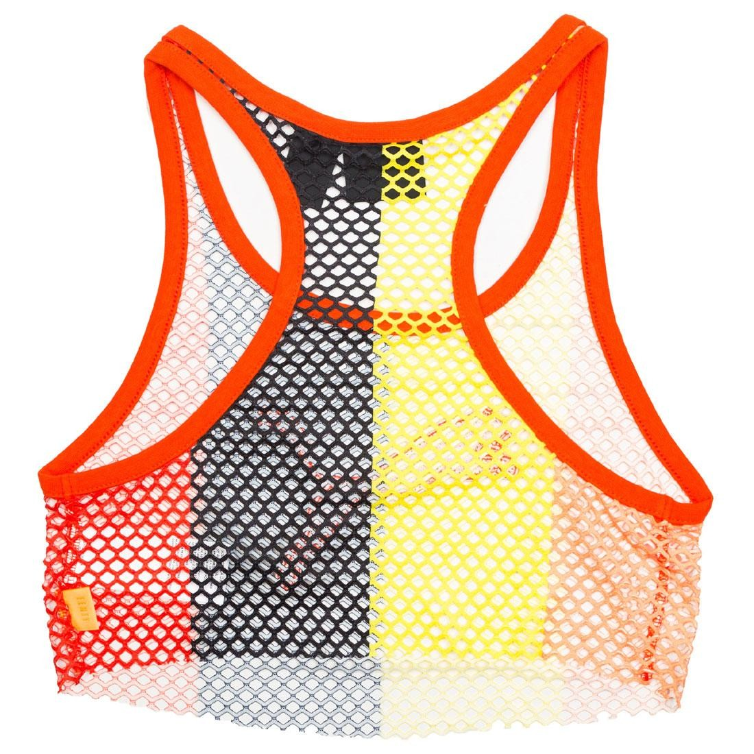 c4fad758e1f87 Puma x Fenty By Rihanna Women Mesh Cropped Tank Top (orange   pop)