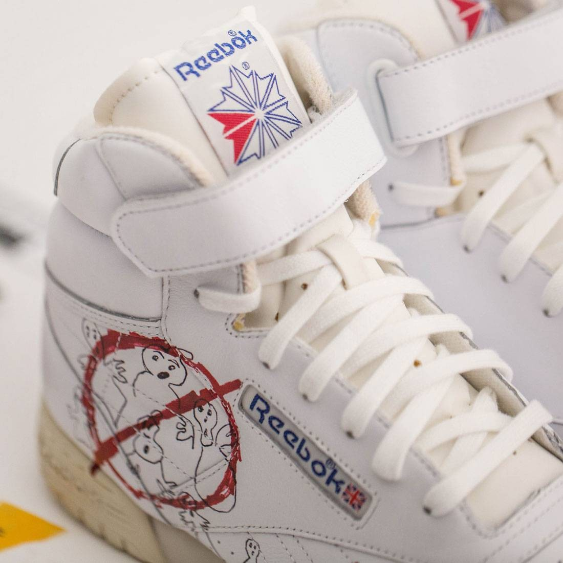 BAIT Exclusive x Stranger Things x Ghostbusters x Reebok Ex-O-Fit Vintage  Men Size 8.5 37b01ce53
