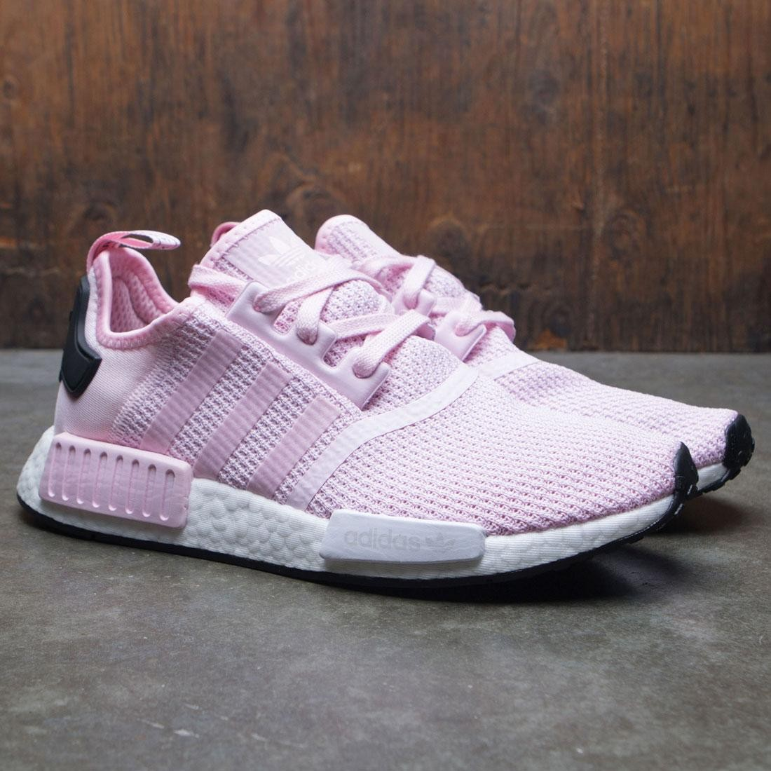 1f40fd977 Adidas Women NMD R1 W (pink   clear pink   footwear white   core black)