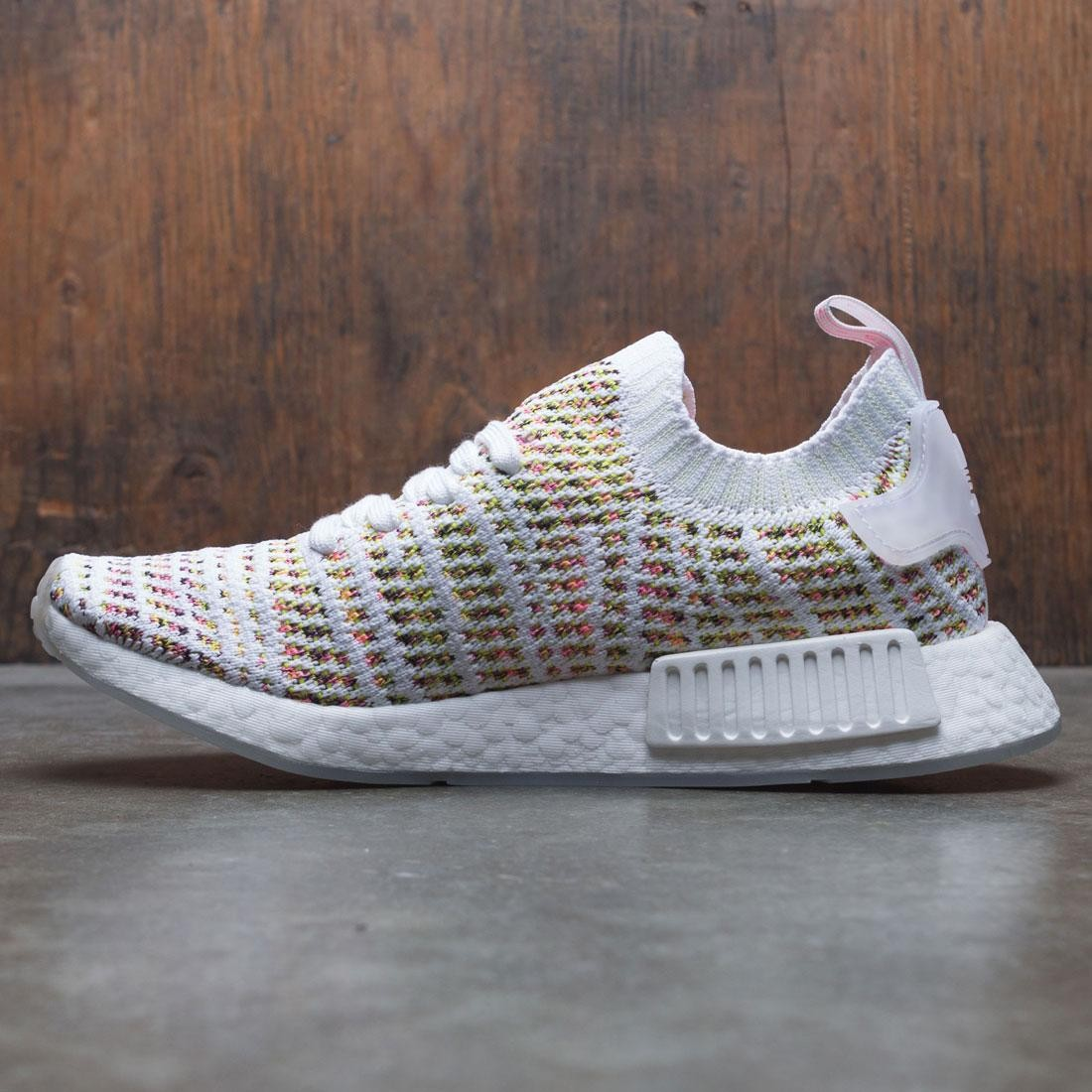 competitive price 13418 72260 Adidas Women NMD R1 STLT PK W (white / semi solar yellow / solar pink)