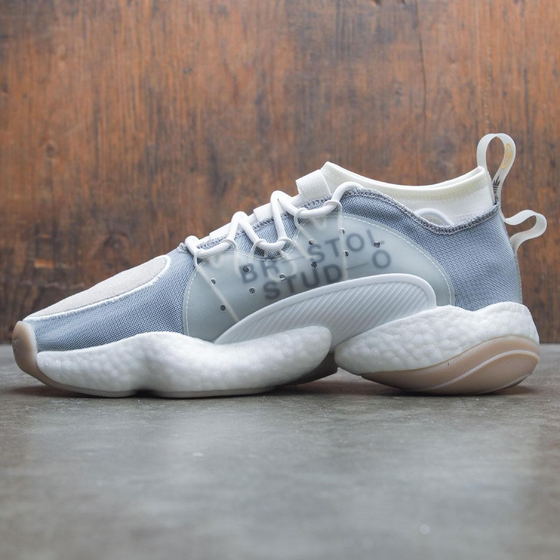 0820eaa50 Adidas x Bristol Studio Men Crazy BYW LVL II (white   cloud white    collegiate navy)