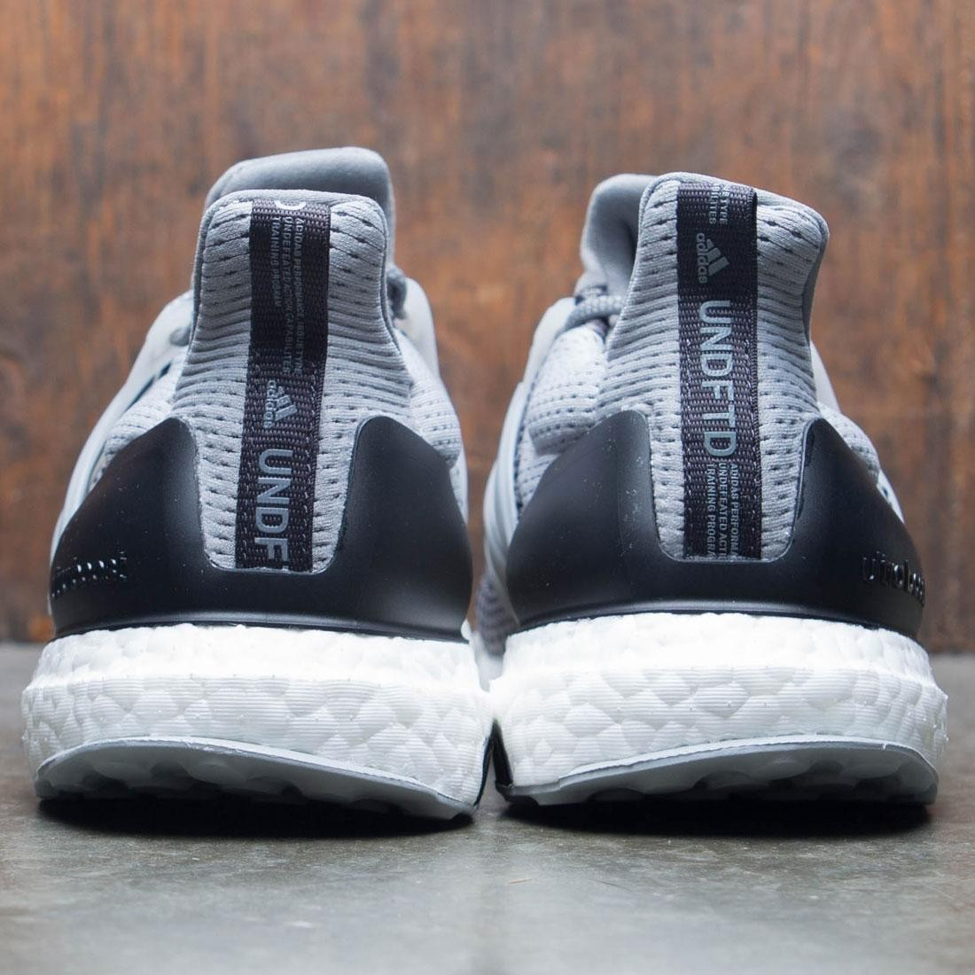 fb2d2885e32 Adidas x Undefeated Men UltraBOOST (gray   shift grey   cinder   utility  black)