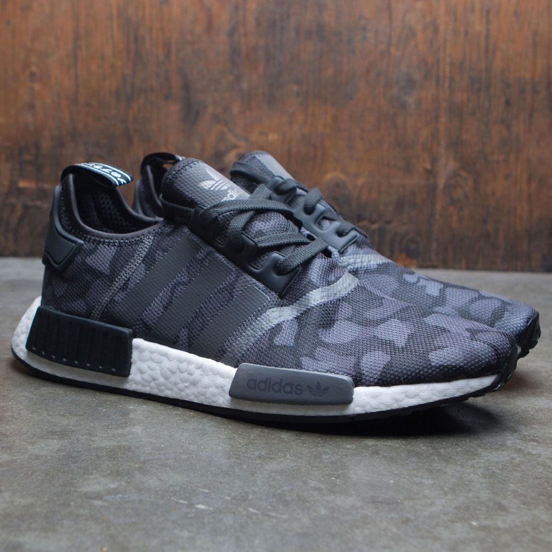 new arrival 9e083 eae09 Adidas Men NMD R1 (black / grey four / grey five)