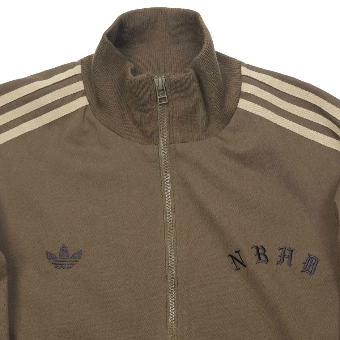 66effd3a5fbd Adidas x Neighborhood Men NH Track Top Jacket (olive   trace olive)