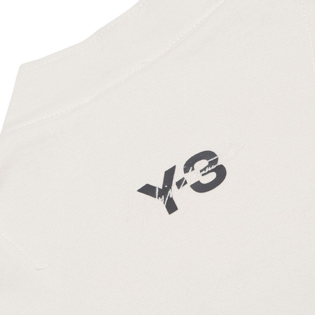 112fd56dcdd0a Adidas Y-3 Men Sashiko Half-Zip Sweater (beige   champagne   black)