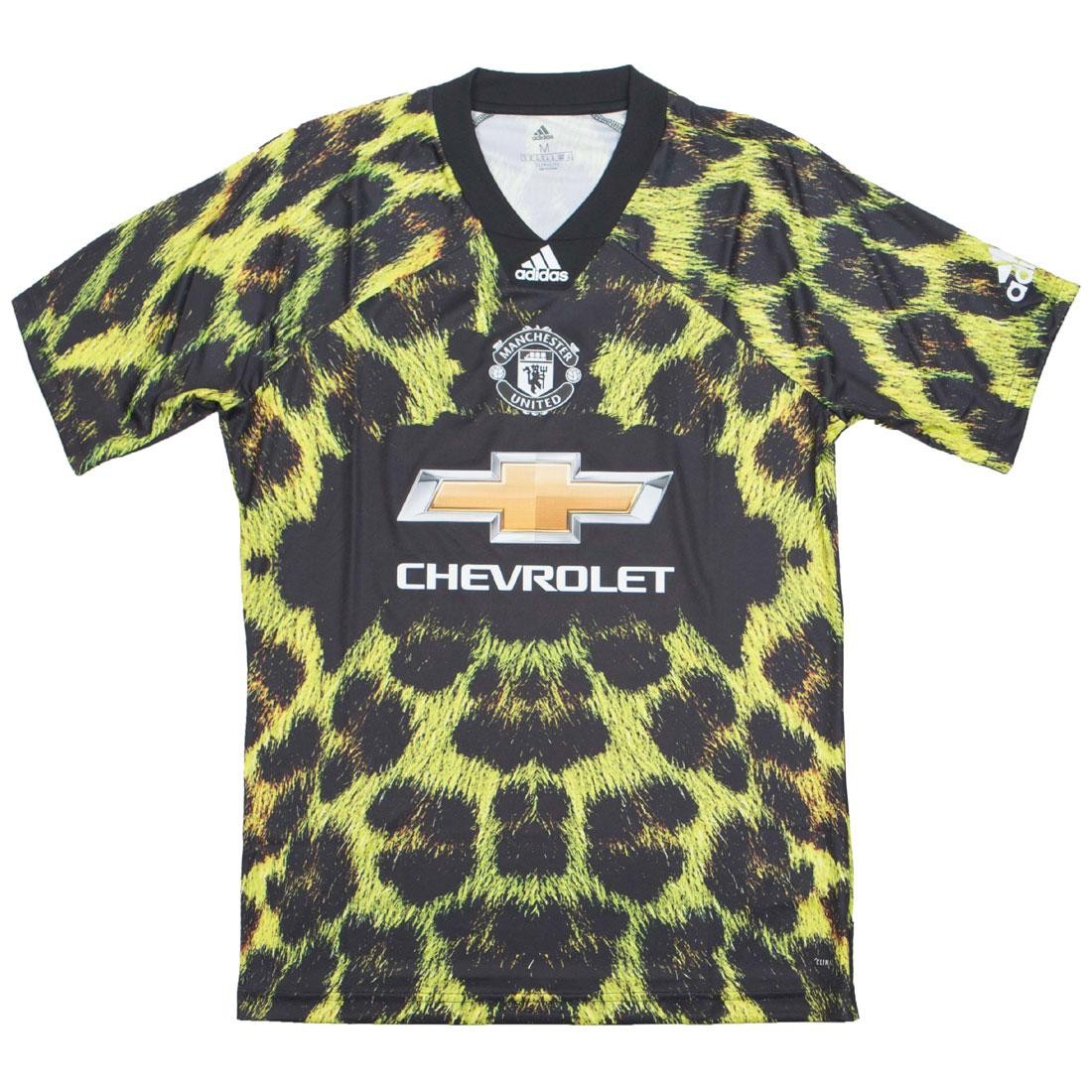 76939fd69 Adidas Men Manchester United EA SPORTS Jersey (yellow   bright yellow    black)