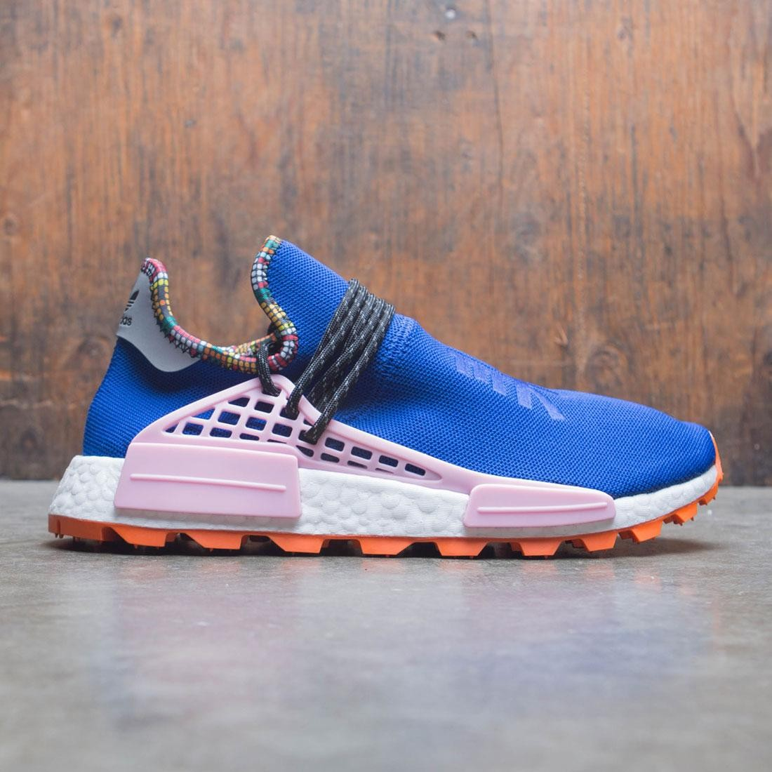 new arrival 798e3 8c394 Adidas x Pharrell Williams Men Solar HU NMD (blue / powder blue / light  pink / orange)