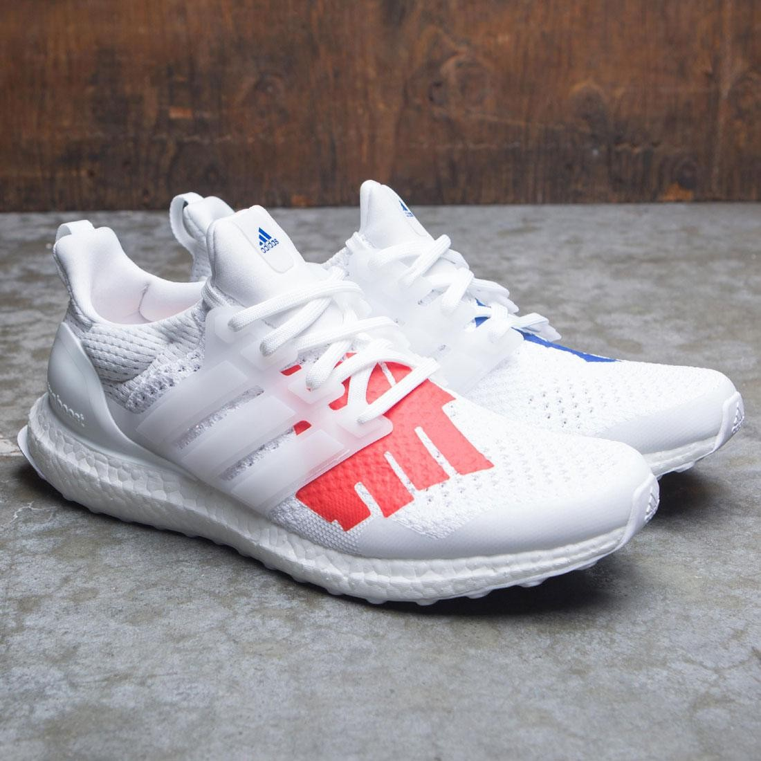 Adidas Consortium x Undefeated Men UltraBOOST (white red collegiate royal)