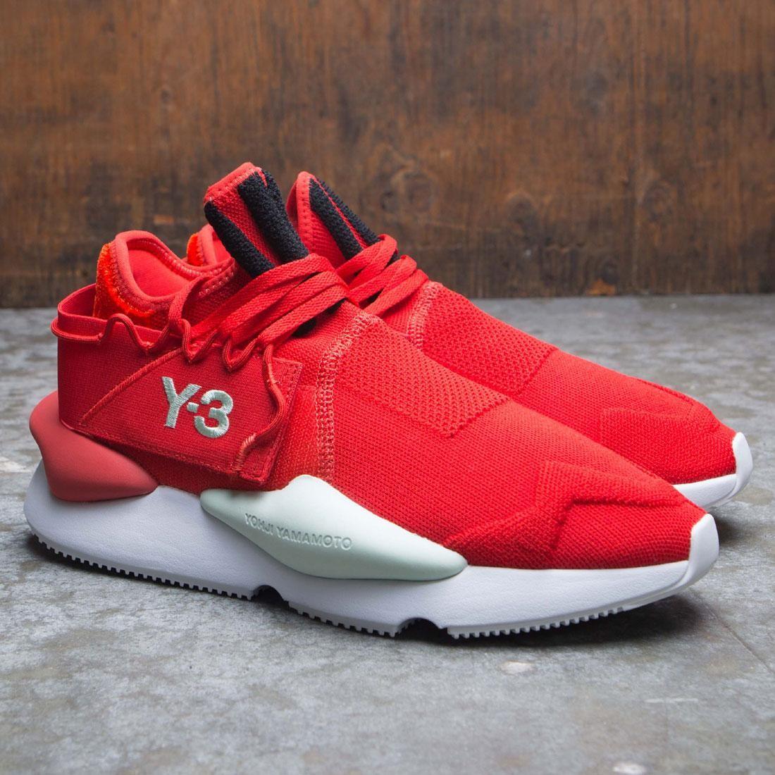Adidas Y-3 Men Kaiwa Knit red core
