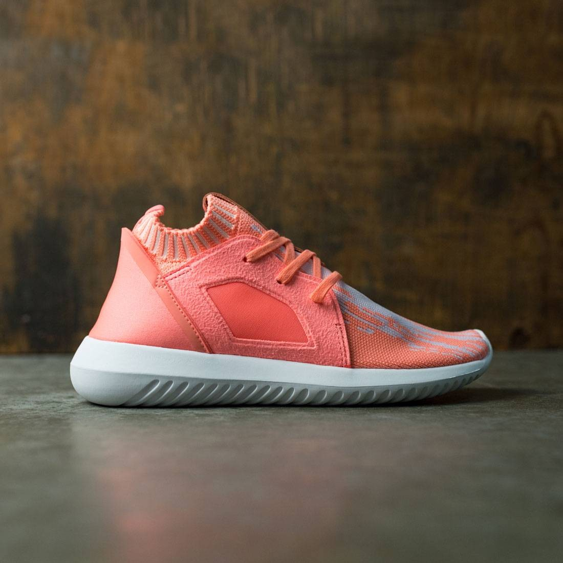 cheap for discount 7592a 10e3f Adidas Women Tubular Defiant Primeknit W (orange   sun glow   footwear white )