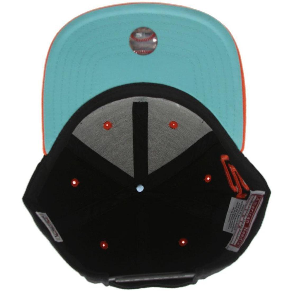 e15ff08f209 BAIT x MLB x American Needle San Francisco Giants Retro Snapback Cap (black    orange)