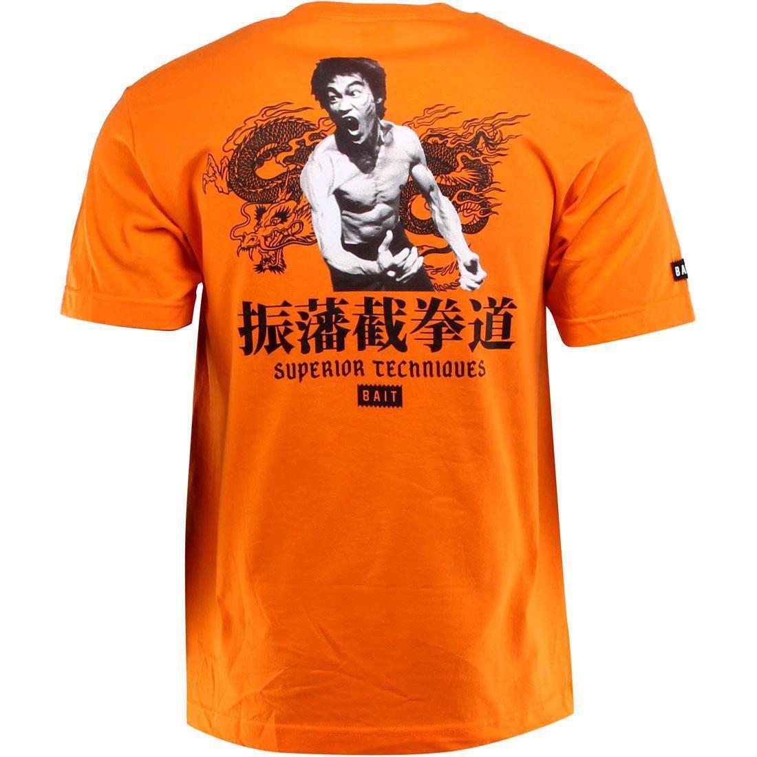 orange BAIT x Bruce Lee x San Francisco Giants Bruce Lee 4 Inch Figure