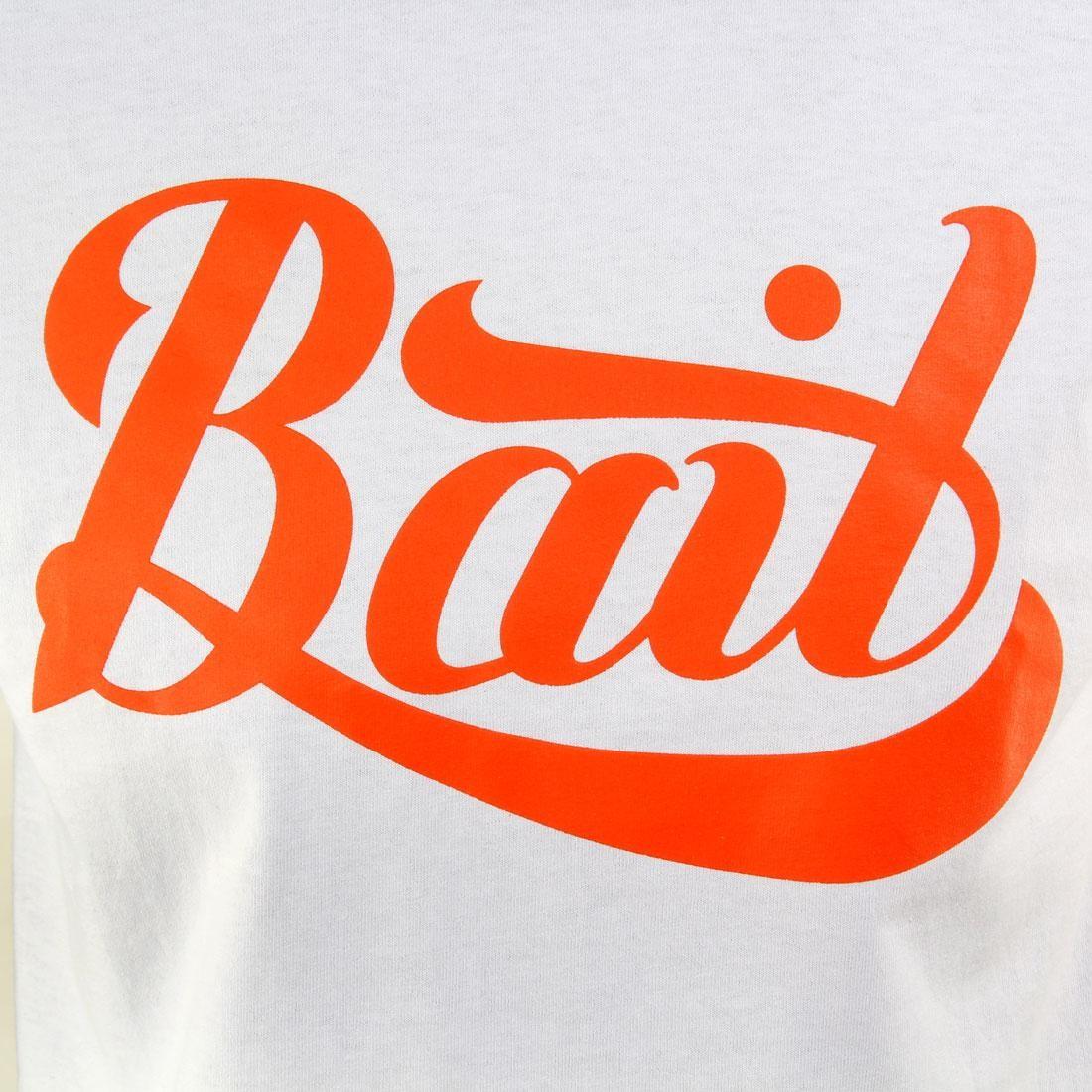 red // white BAIT Script Logo Tee