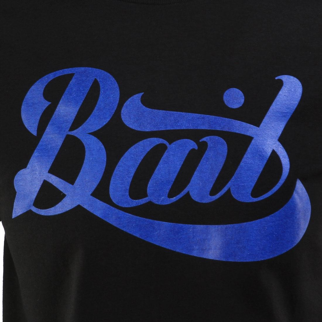 black // blue BAIT Logo Tee