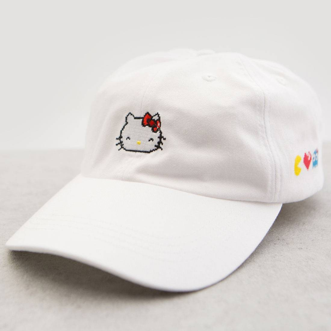 BAIT x Sanrio x Pac-Man Hello Kitty Hat white fc6cbb0091f