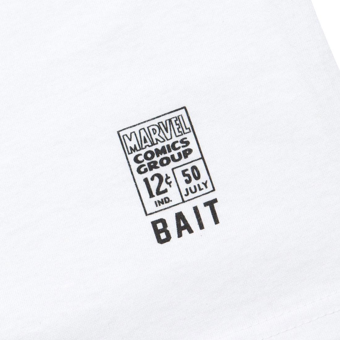 BAIT x Marvel Comics Men Ghost Rider Death Race Tee white