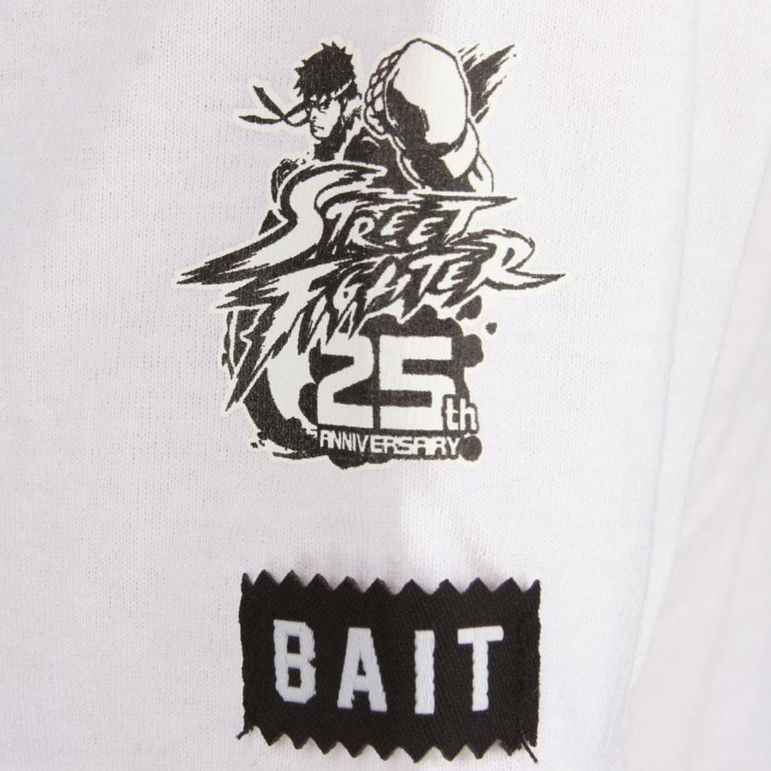 Bait X Street Fighter Akuma Solid Tee White