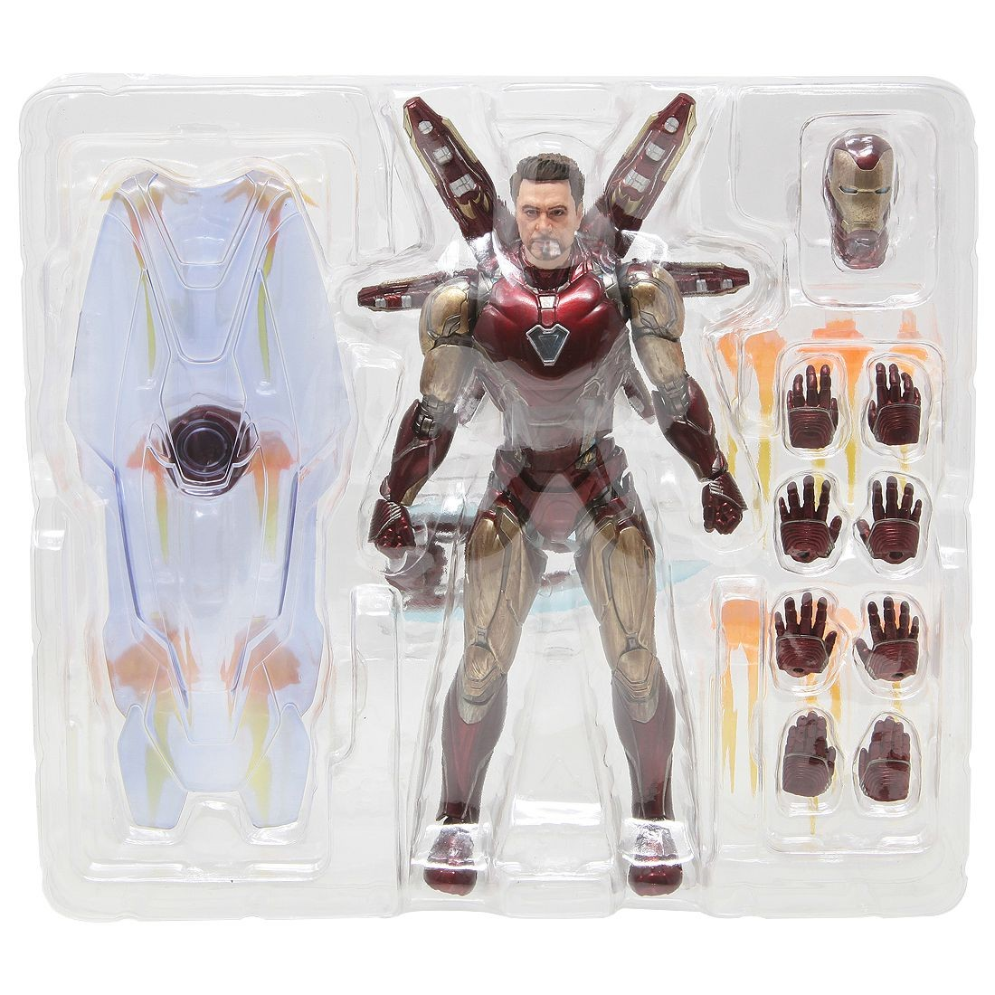 Final Battle Bandai S.H Iron Man Mark 85 Figuarts Avengers: Endgame