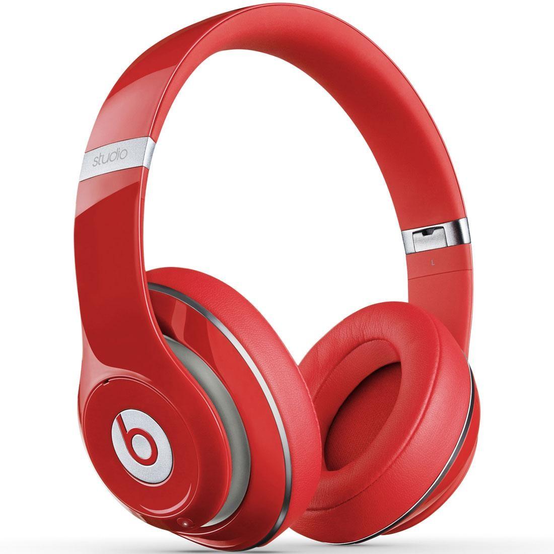 Beats By Dre Studio 2 0 Wireless Over Ear Headphones Red
