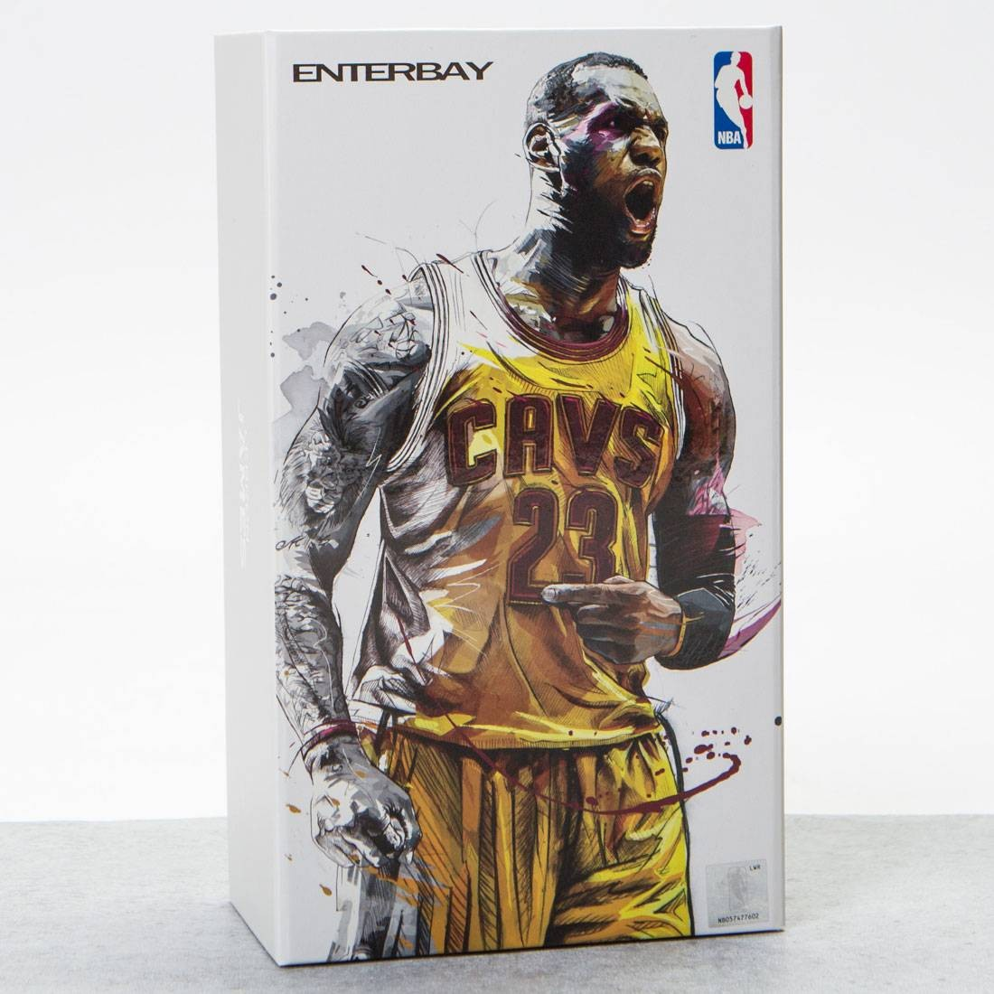 NBA x Enterbay Lebron James 1 9 Scale 9 Inch Figure (yellow) ec86d5792