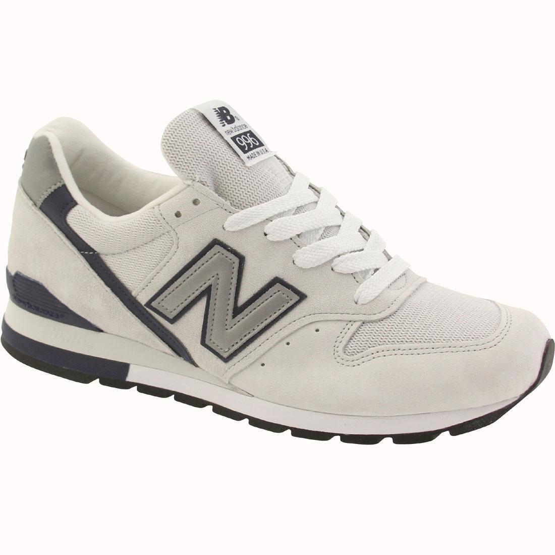 mooie schoenen populaire winkels voortreffelijk ontwerp New Balance Men 996 Heritage M996CFIS - Made In USA (gray / clay / navy)