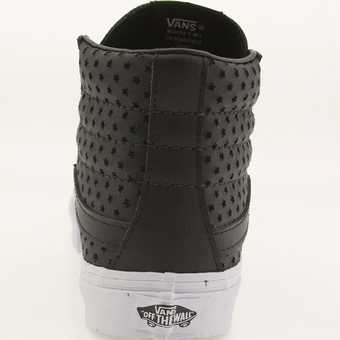 8b02d0ac45b Vans Women Sk8-Hi Slim - Perf Stars (black   white)