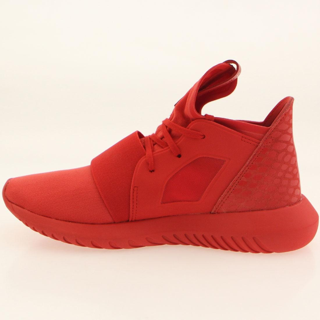3f1a4624a450 Adidas Women Tubular Defiant (red   lush red   running white)