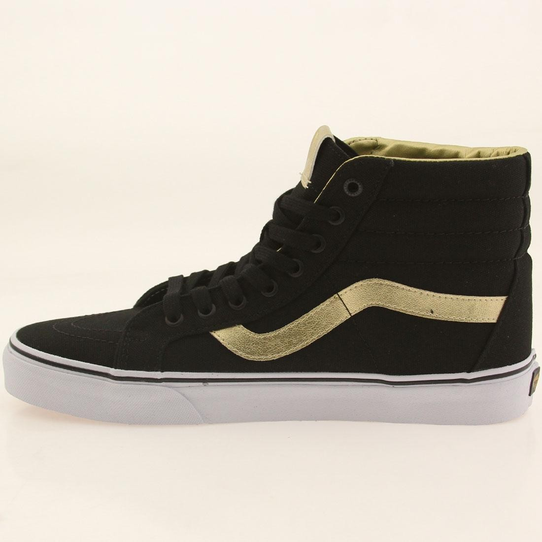 82b62d73cf44 Vans Men SK8-Hi Reissue - 50th Anniversary (black   gold)