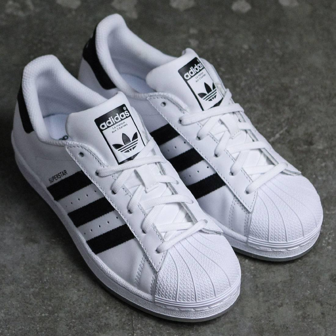 adidas superstar blancas con negro