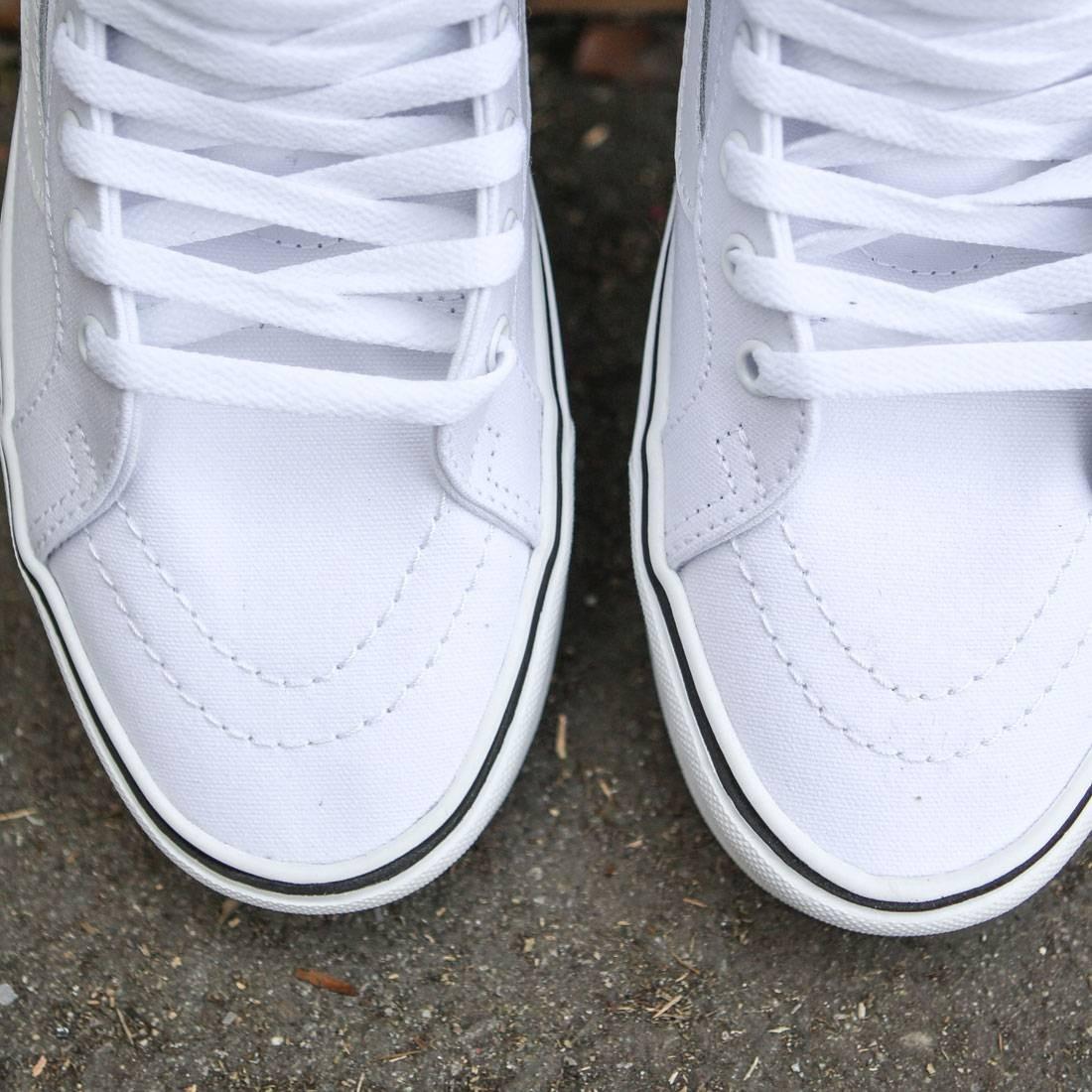 Vans Men Sk8 Hi Lite Plus Canvas (white true white)