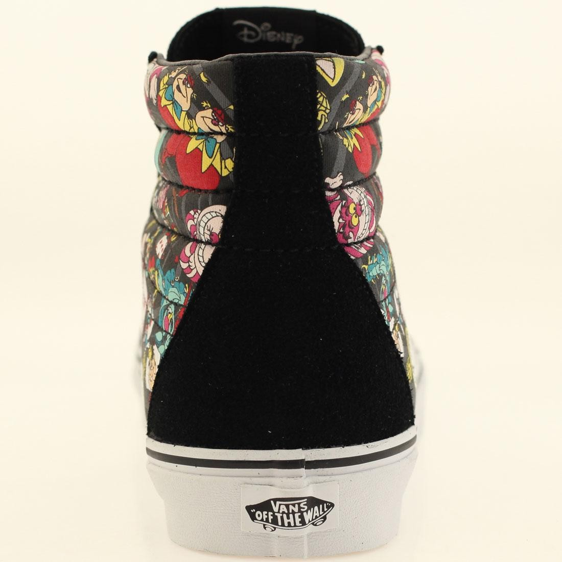 Vans x Disney Mens Sk8-Hi Reissue - Alice In Wonderland Rabbit Hole (black) f7e7cb51bc907