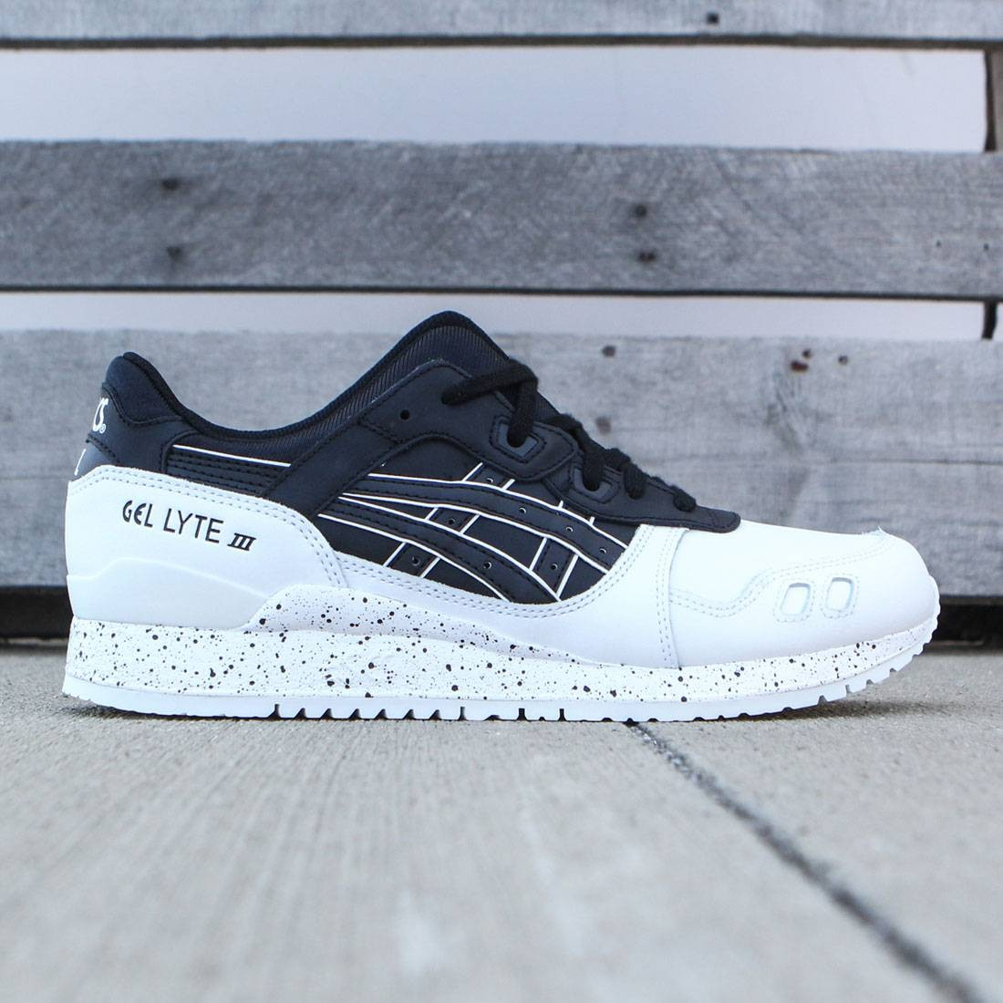 new concept 22356 da4cc Asics Tiger Men Gel-Lyte III (black / black / white)