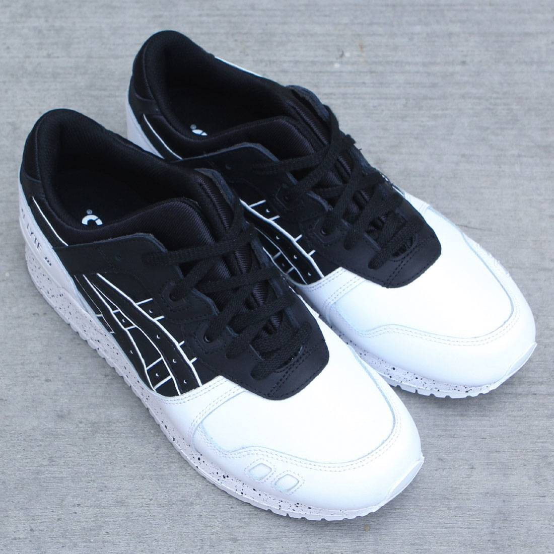 more photos 4b3e7 f32b6 france asics gel lyte 3 black and white 046be acab8