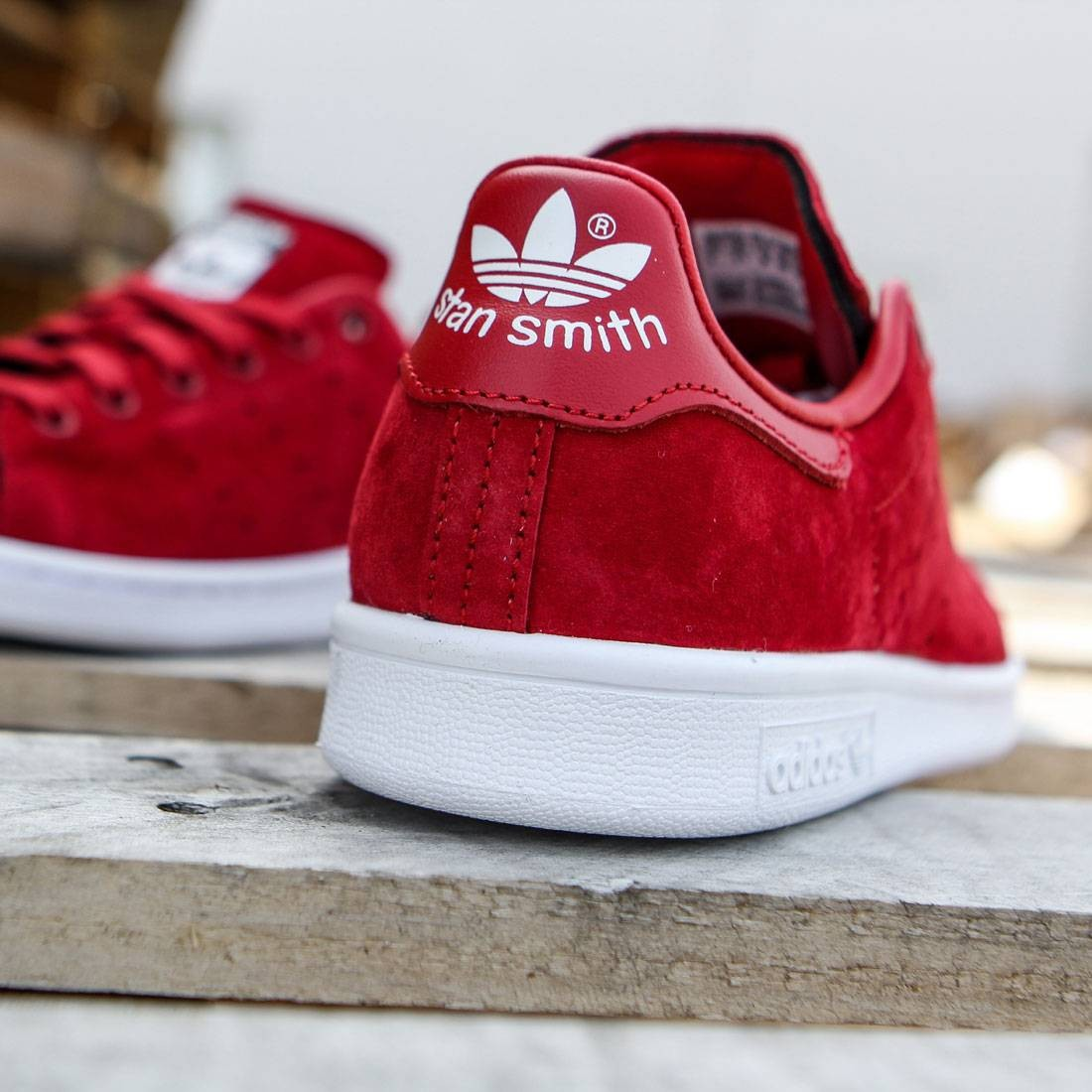 buy popular 3182f cb787 Adidas Women Stan Smith (red   power red   footwear white)