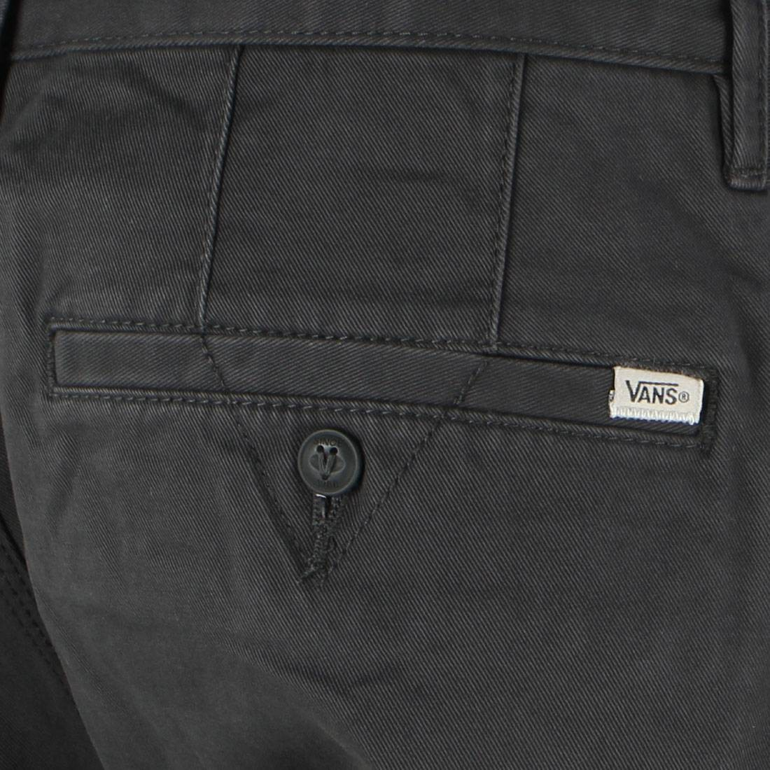 fe6514ff67 Vans Men Excerpt Chino Pegged Jogger Pants (black   pirate black)
