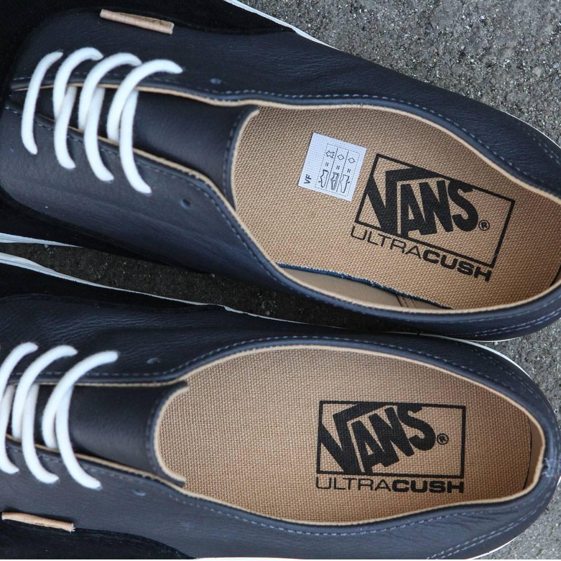 ab82c9482e Vans Men Authentic Deconstructed DX - Pig Suede (black   asphalt)