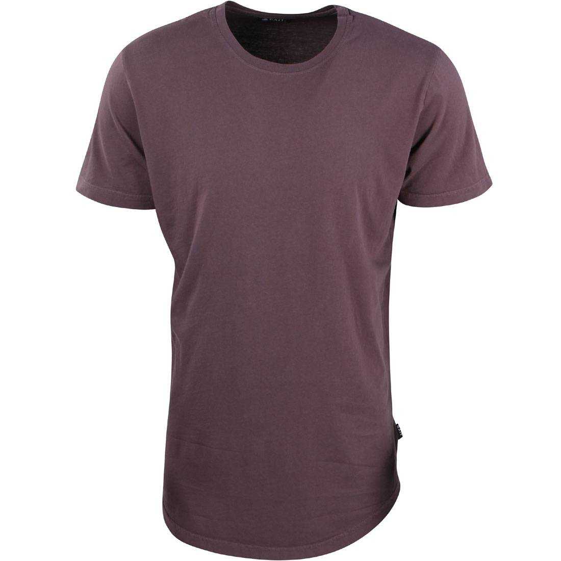 3c62ded0891 BAIT Men Premium Scallop Tee - Made In Los Angeles (purple / plum kitten)